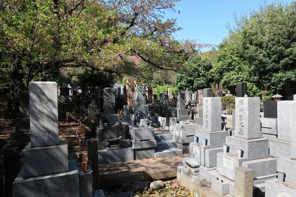 (光林寺様内)麻布墓苑