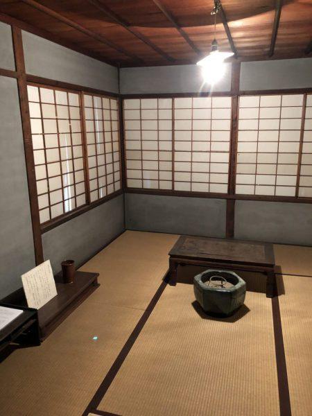 清澤満之師の書斎の画像