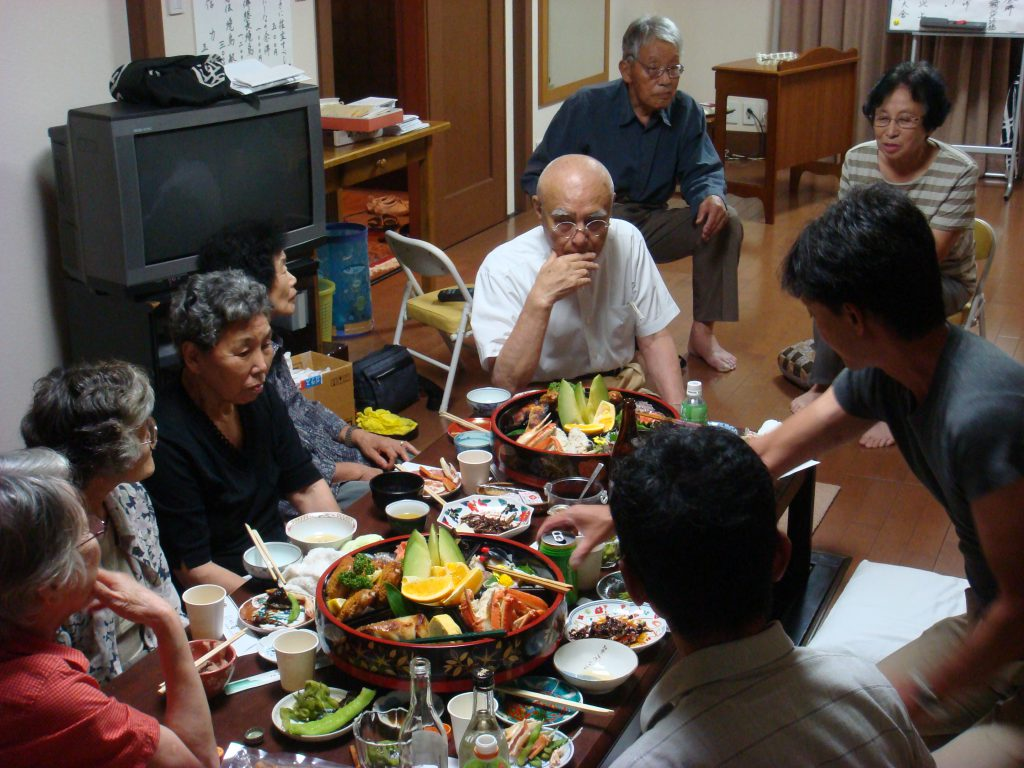 09年8月30日広大舎夕食